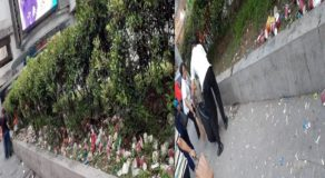 Lady Resident Slams Irresponsible Call Center Agents for Littering Along Sidewalk