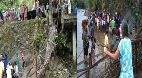 Footbridge in Mt. Province Collapsed, 10 Residents Injured