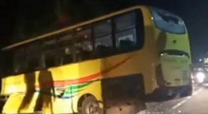 Ceres Bus Tipped Over A Cliff In Catmon, Cebu, 20 Passengers Injured