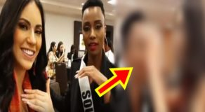 VIDEO: Gazini Ganados Helps Zozibini Tunzi Put On False Eyelashes