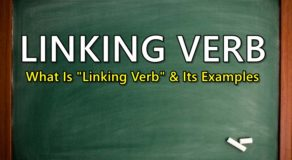 "LINKING VERB – What Is A ""Linking Verb"" & Its Examples"
