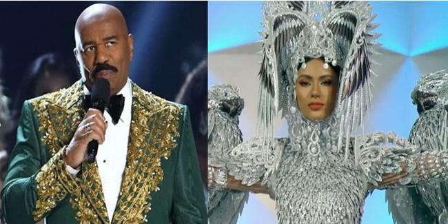 Miss-Universe-2019-PH-Gazini-Ganados- Steve Harvey