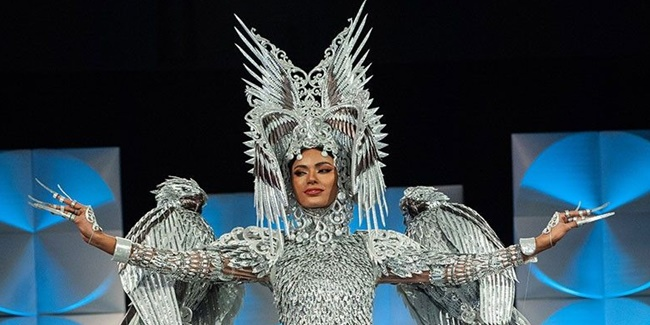 Miss Universe 2019 national costume Gazini ganados 2