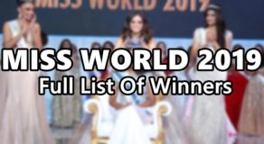 MISS WORLD 2019 Is Miss Jamaica, Here's Full List Of Winners