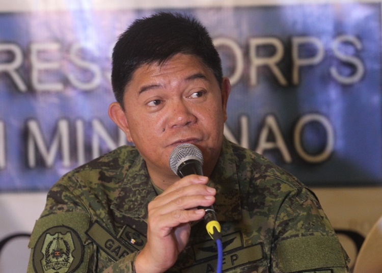 New Philippine Army Chief Lieutenant General Gilbert Gapay