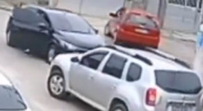 VIDEO: Robber Attempts To Steal Vehicle, Fails Because He Cannot Drive It