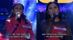 Tawag Ng Tanghalan All-Star Grand Resbak December 12 Winners: Jessica & Charizze
