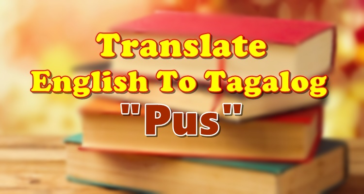 Translate English To Tagalog Pus