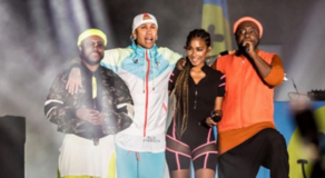 Black Eyed Peas SEA Games Closing Ceremony Performance (VIDEO)