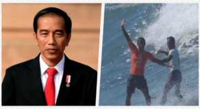 President Of Indonesia Thanks PH Hero Surfer For Saving Competitor