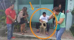 "Humble Photo of President Duterte ""Naka-Tambay"" Outside His House Goes Viral"