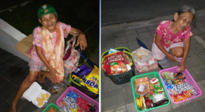 Netizen Seeks Help for Elderly Woman Who Still Work as Vendor