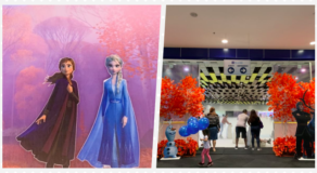 Frozen 2 Inspired Skating Rink Unveiled In SM Seaside Cebu