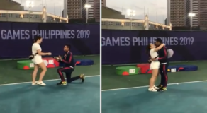 SEA Games Athlete Bags Silver Medal in Tennis and a Sweet Yes from GF