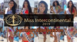 Miss Intercontinental 2019 Holds Swimsuit Competition (Photos)