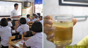 Thai Teacher Makes 30 Students Drinks His Urine, Claims Its Holy Water from Temple