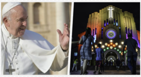 Pope Francis Celebrates First Simbang Gabi For Filipinos On Dec. 15