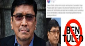 "Ben Tulfo Reacts to Bacolod City's Proposal of Declaring Him as ""Persona Non-Grata"""