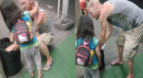 Poor Foreign National & Child Allegedly Abandoned by Pinay Wife