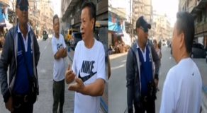 Chinese Man Argues w/ Pinoy Traffic Cops After Committing Traffic Violation