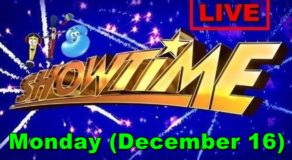 Kapamilya It's Showtime – December 16, 2019 Episode (Live Streaming)