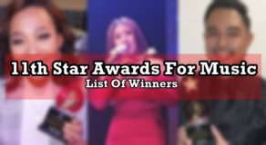 11th Star Awards For Music 2020 Winners Finally Announced (Complete List)