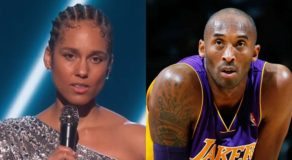 Alicia Keys Touching Tribute For Kobe Bryant During Grammys