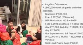 Angel Locsin Donates Php 1.5-Million Worth Of Goods & Other Expenses For Taal Victims