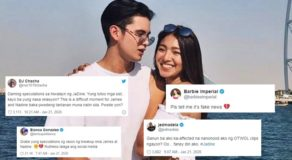 JaDine Split: Famous Celebrities Have These Comments