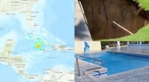 Jamaica Earthquake At Magnitude 7.7 Aftermath In Photos & Videos