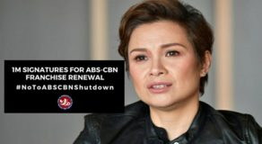 Lea Salonga Signs Online Petition for #NoToABSCBNShutdown