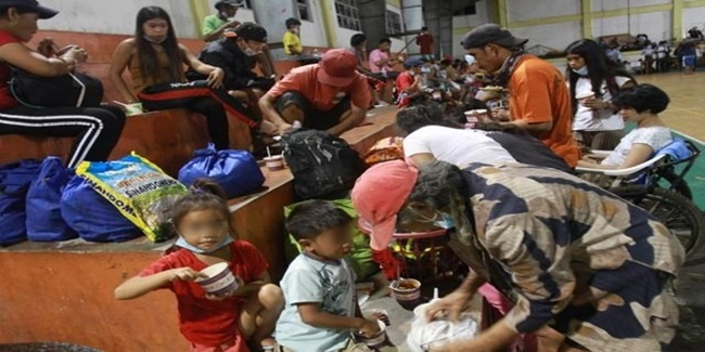 Taal eruption evacuees