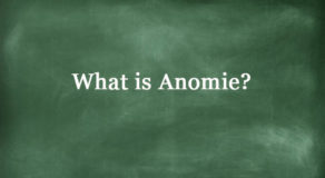 What Is Anomie? About This Term In Sociology (Answer)