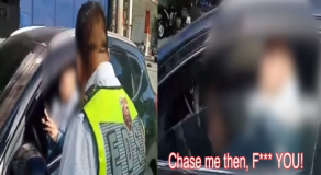 Cop Furiously Arrest Arrogant Foreigner For Calling Enforcers D**kHeads