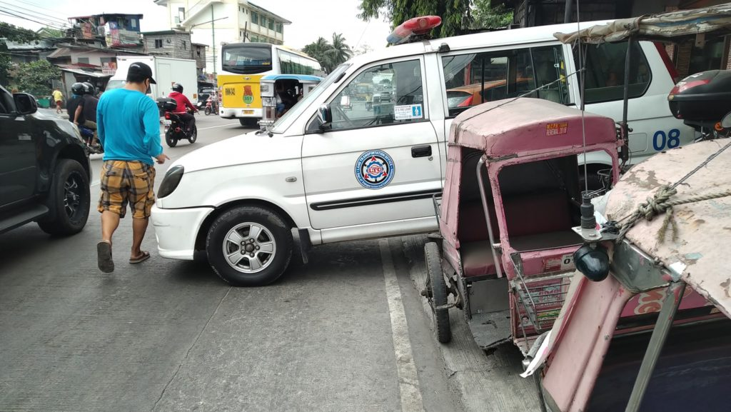 LTO Patrol Vehicle