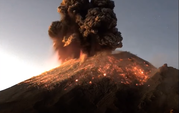 3 Volcanic Eruptions From 3 Different Countries In 3 Days