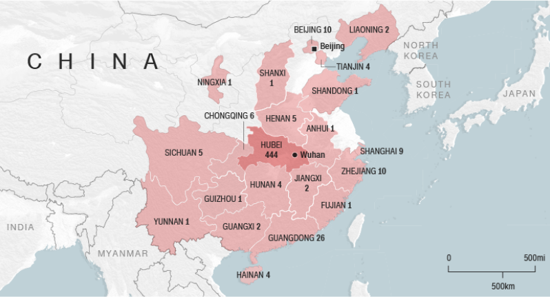 China Coronavirus Death Toll Rises Sparking Fears Of Possible Pandemic