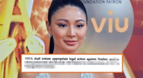 Nadine Lustre Versus Viva: Case may be Filed against Actress Due To This