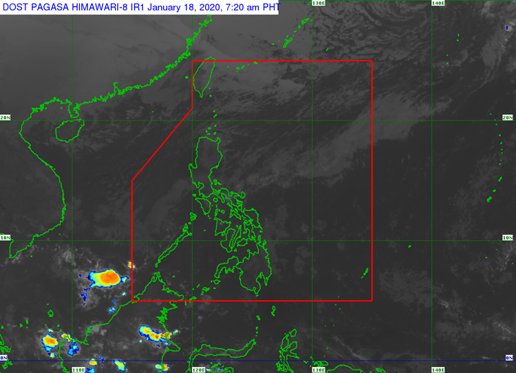 LATEST WEATHER UPDATE - The state weather bureau PAGASA released the latest weather updates in the country today.