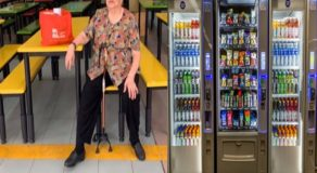 School Admin Fires Elderly Vendor & Replaced Her w/ Vending Machine