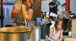 Judy Ann Santos & Son Lucio Cook & Prepare Foods For Taal Evacuees