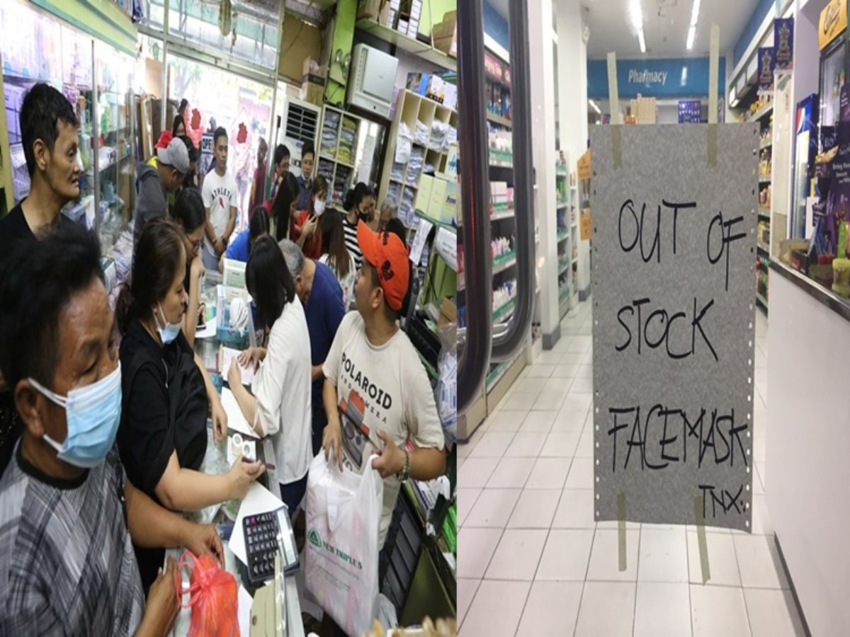 Stores Masks Supply Metro Out Ran In Face Of Manila