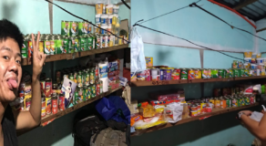 Taal Evacuee Started a Sari-Sari Store Using All the Relief Goods He Received
