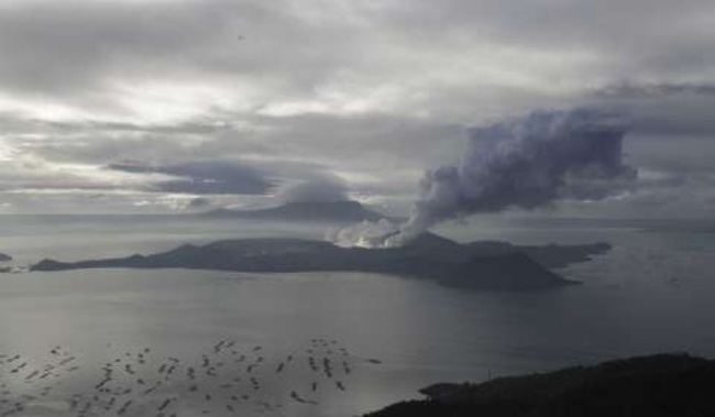 Taal Volcano Threat Still High Even With Signs Of Calming Down