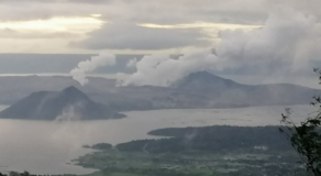Taal Ash Emissions Strongest In Past Few Days – Phivolcs