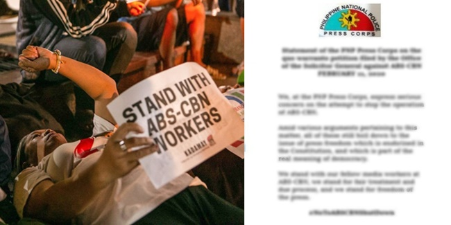 ABS-CBN Franchise Issue PNP Press Corps 2