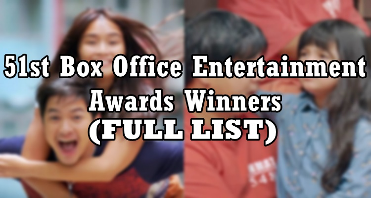 Box Office Entertainment Awards Winners