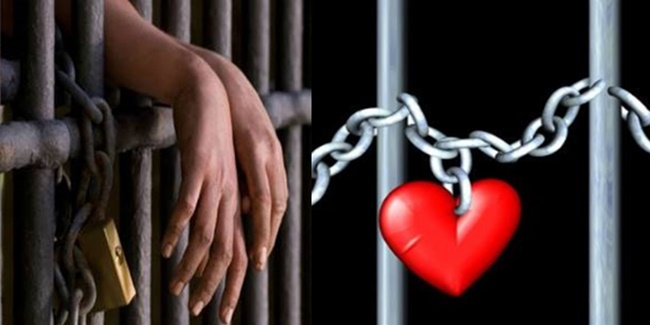 Couple valentines Day jail 2