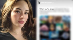 Ellen Adarna posts about being single amid breakup rumors w/ John Lloyd