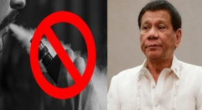 Duterte Formally Bans Use Of E-Cigarettes, Vapes In Public